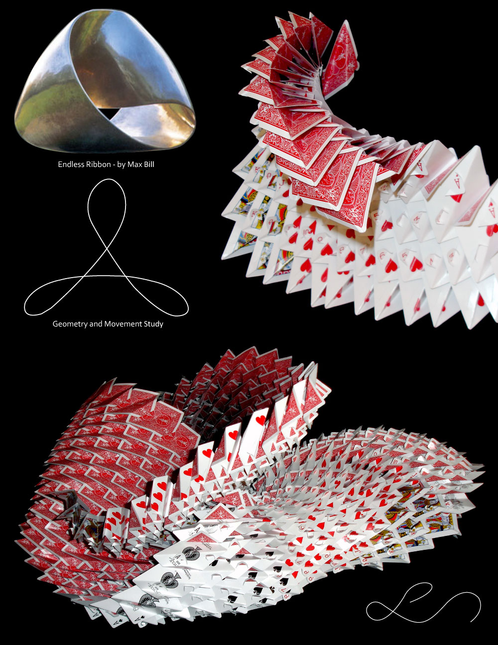 Playing Card Vortex